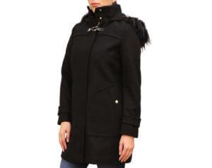 Pictures of Cole Hann Signature Wool-Blend Coat - Black 21,22,23--19