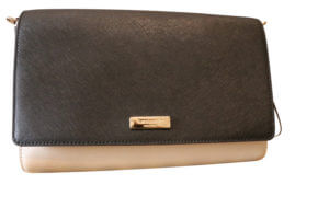 Kate Spade Tilden Place Colorblock Alek - Black and Cream - 10--19