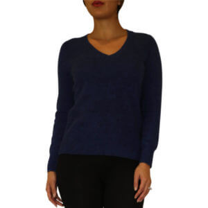 Cynthia Vincent Cashmere Sweater - Navy 5--19