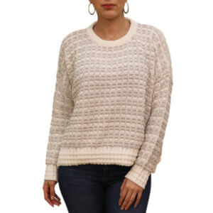 Pictures of Raga Ryan Boxy Pullover Sweater - Cream 36--19